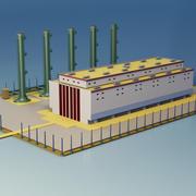 Fábrica 3d model