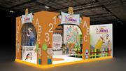 stand per bambini 3d model