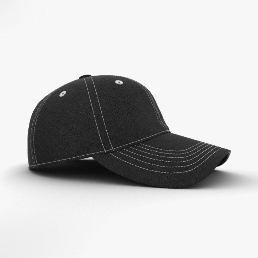 棒球帽 royalty-free 3d model - Preview no. 5