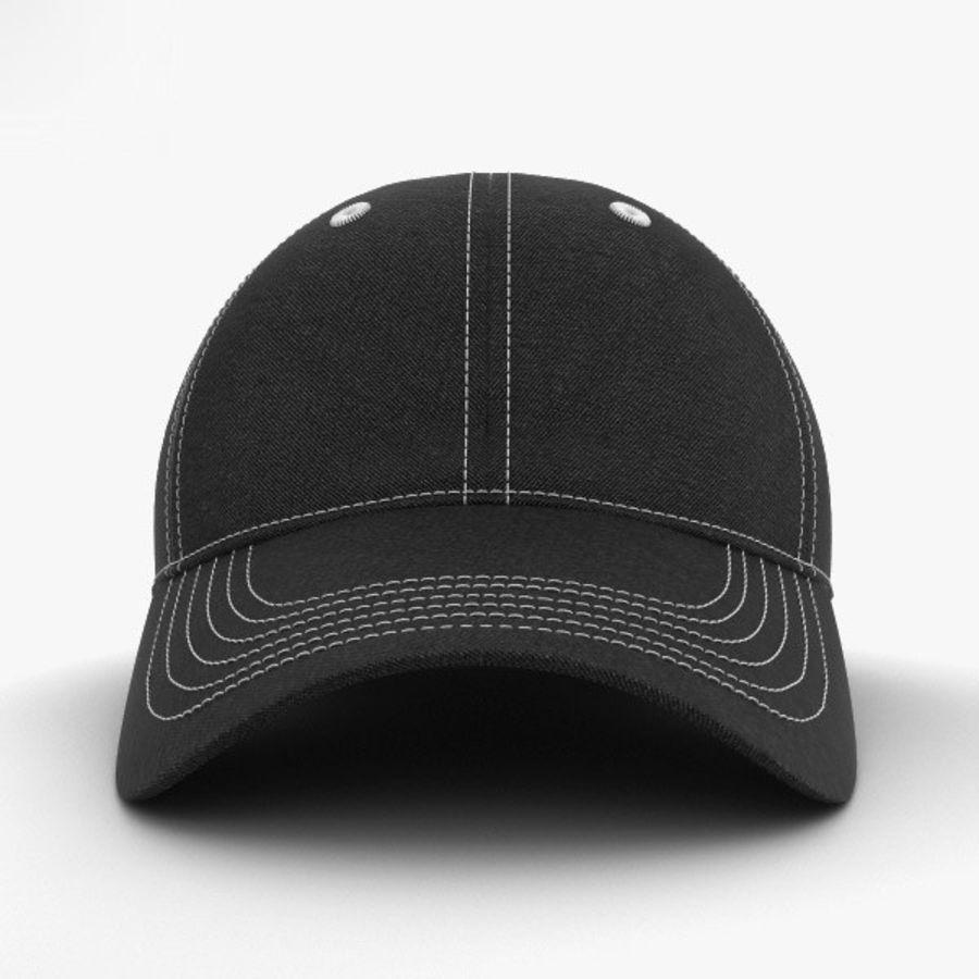 棒球帽 royalty-free 3d model - Preview no. 9