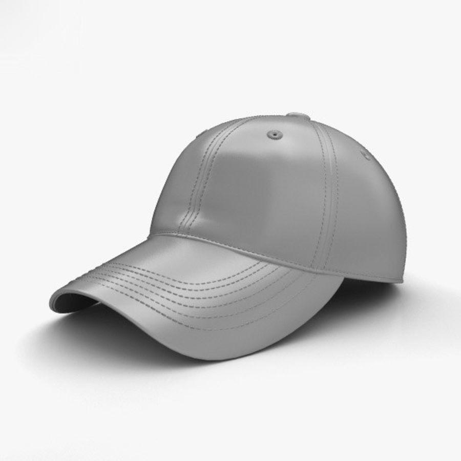 棒球帽 royalty-free 3d model - Preview no. 11