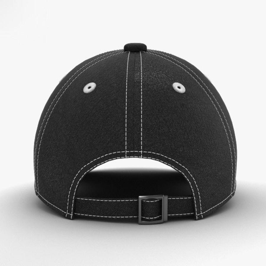 棒球帽 royalty-free 3d model - Preview no. 8