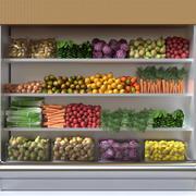 Fruit shelf 3 3d model