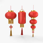 Chinese lantaarn 3d model
