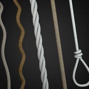 cordas e laço 3d model