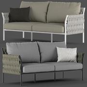 Globewest里窝那沙发 3d model