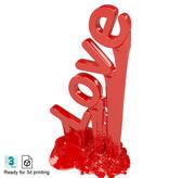 Amor modelo 3d