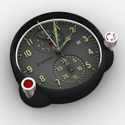 飞机钟仿 3d model