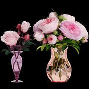 Róże 3d model