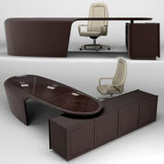 Rayleigh Conference Chair y PRESIDENT Desk modelo 3d