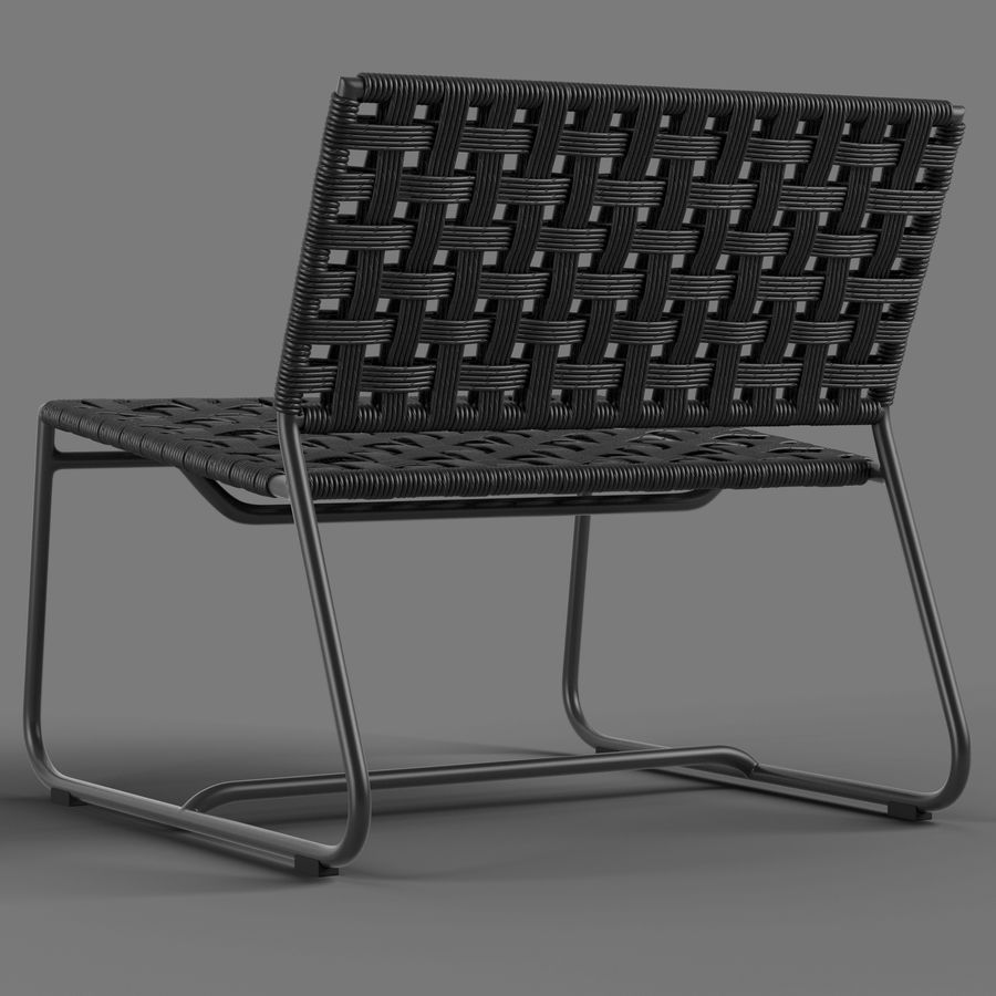 Globewest Marina Chair royalty-free 3d model - Preview no. 2