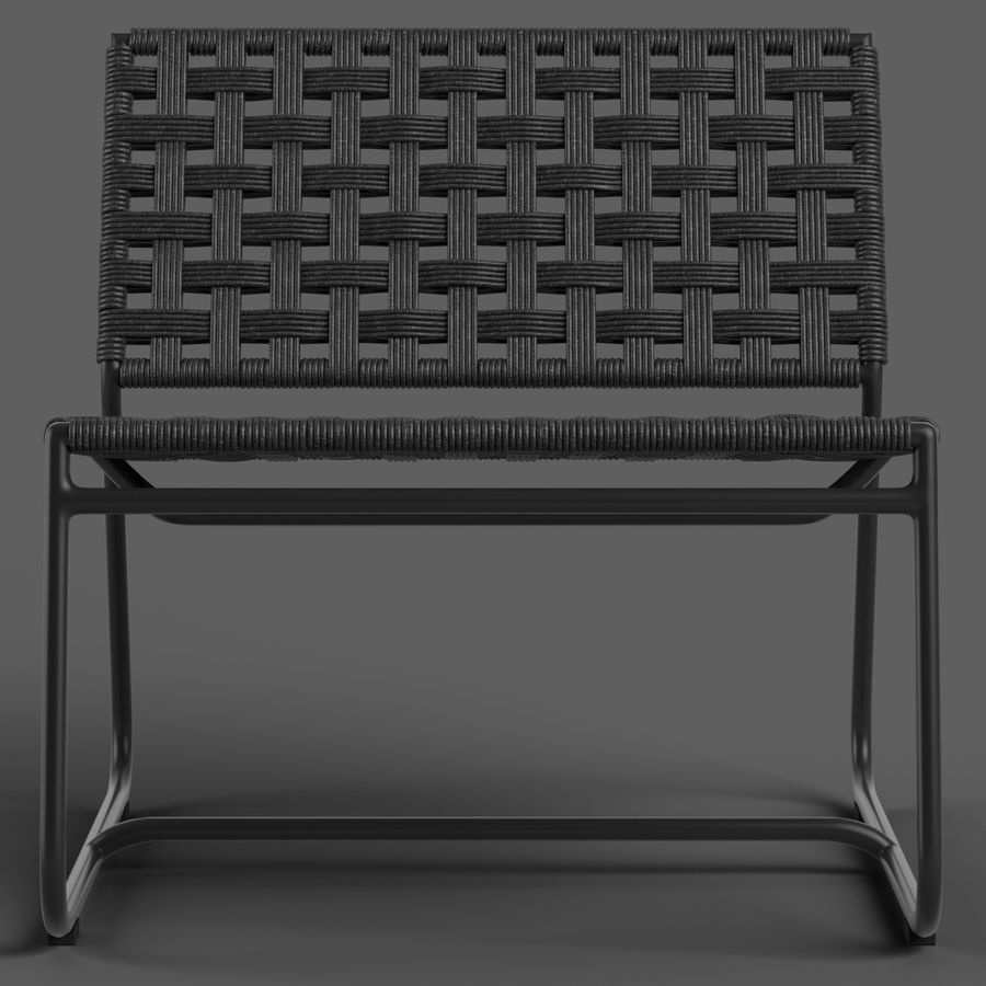 Globewest Marina Chair royalty-free 3d model - Preview no. 3