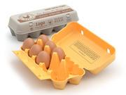 索具蛋盒 3d model
