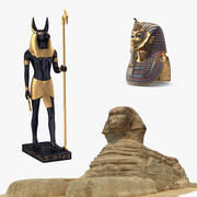 Colección Egipto modelo 3d