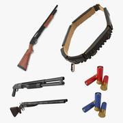 Shotguns 3D模型收藏2 3d model