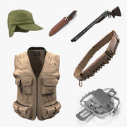 狩猎装备3D模型集合2 3d model