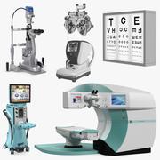 Instruments de diagnostic et de chirurgie oculaire Collection de modèles 3D 3 3d model
