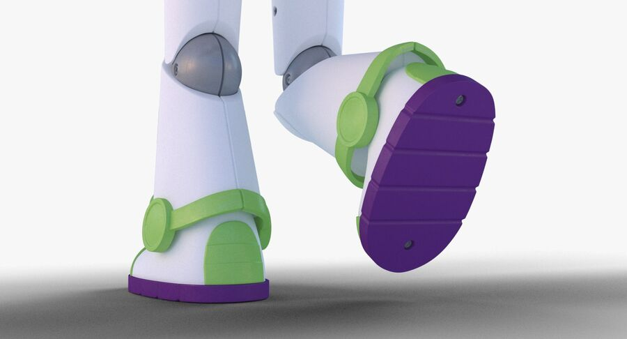 Buzz Lightyear 2019 royalty-free 3d model - Preview no. 21