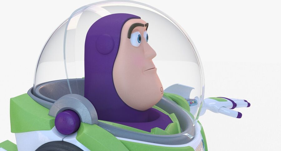 Buzz Lightyear 2019 royalty-free 3d model - Preview no. 22