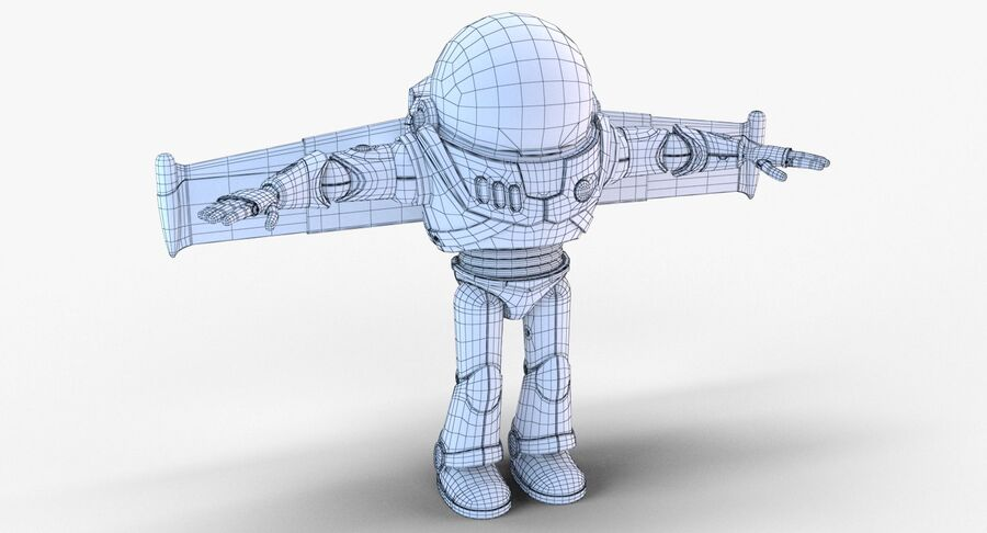 Buzz Lightyear 2019 royalty-free 3d model - Preview no. 46