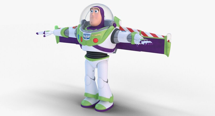 Buzz Lightyear 2019 royalty-free 3d model - Preview no. 9