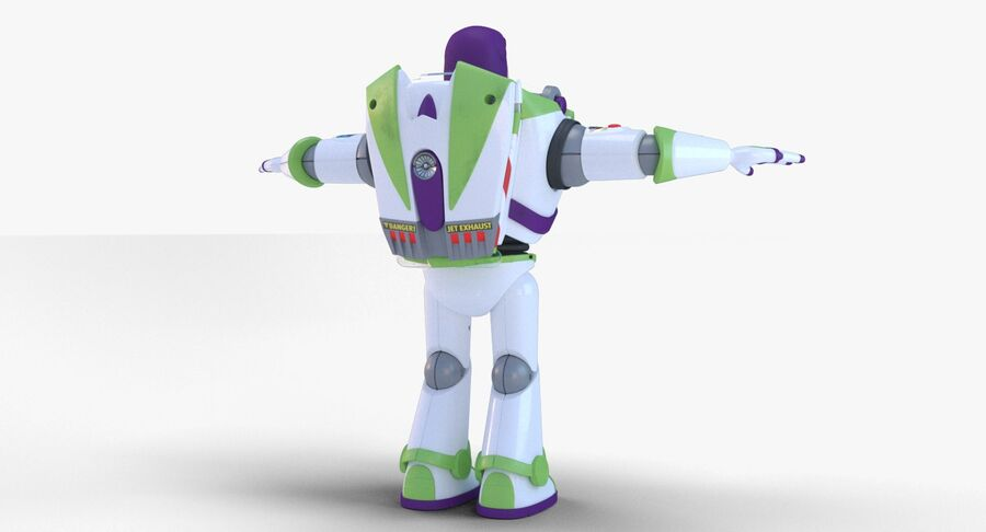 Buzz Lightyear 2019 royalty-free 3d model - Preview no. 17