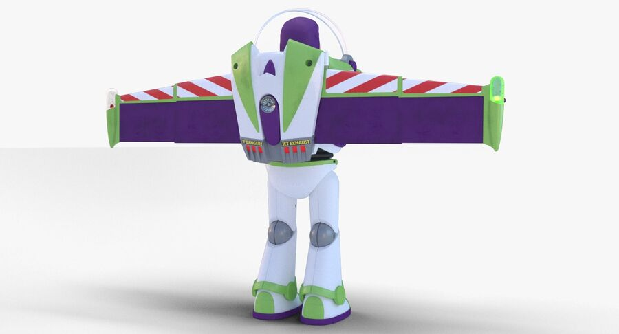 Buzz Lightyear 2019 royalty-free 3d model - Preview no. 16