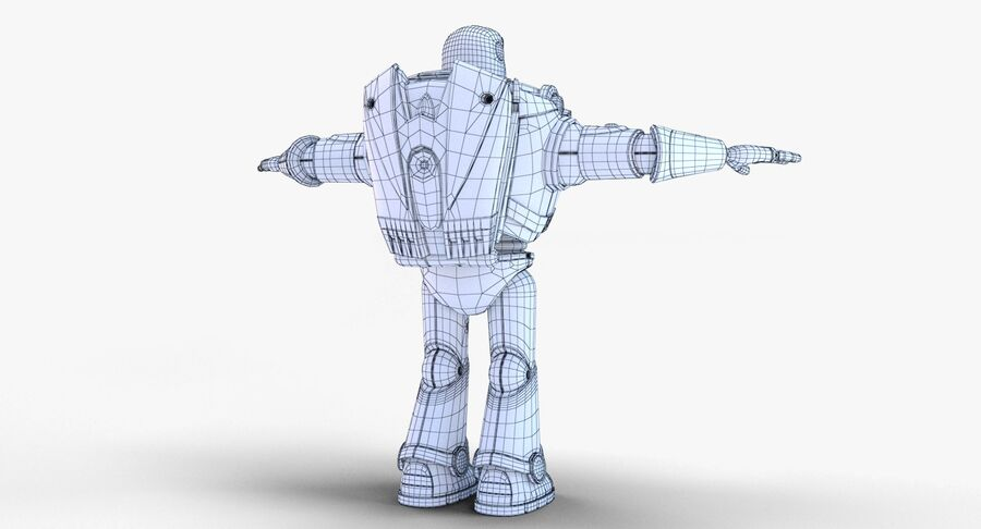 Buzz Lightyear 2019 royalty-free 3d model - Preview no. 40