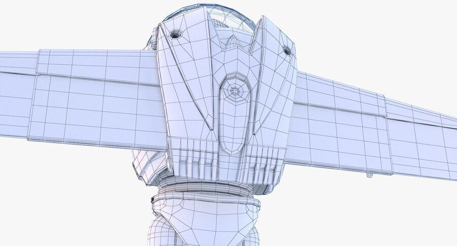 Buzz Lightyear 2019 royalty-free 3d model - Preview no. 37