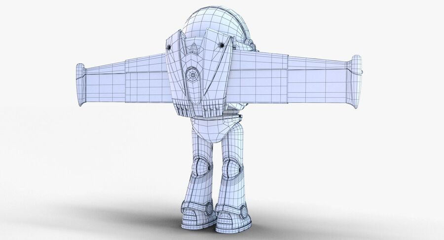 Buzz Lightyear 2019 royalty-free 3d model - Preview no. 47