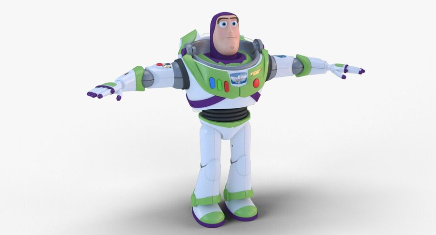 Buzz Lightyear 2019 royalty-free 3d model - Preview no. 4