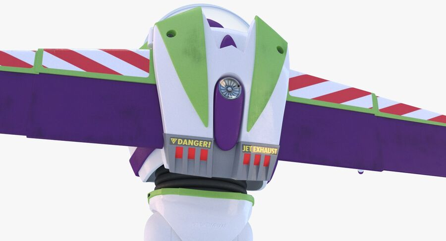 Buzz Lightyear 2019 royalty-free 3d model - Preview no. 14