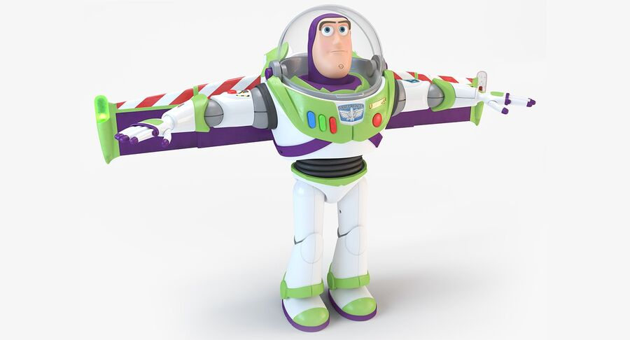 Buzz Lightyear 2019 royalty-free 3d model - Preview no. 3
