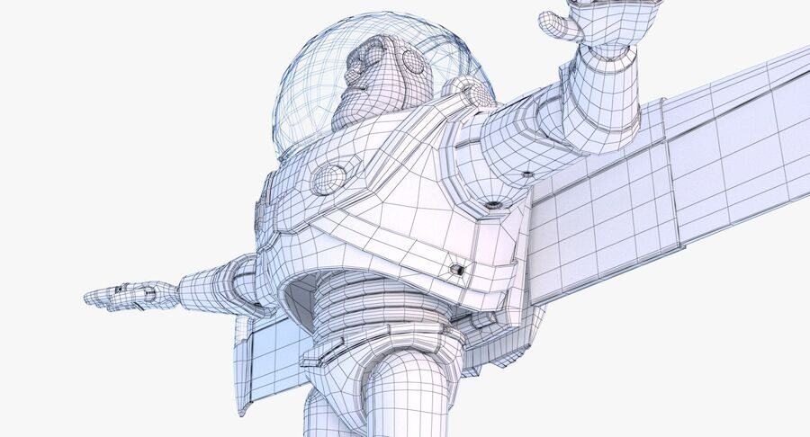 Buzz Lightyear 2019 royalty-free 3d model - Preview no. 38