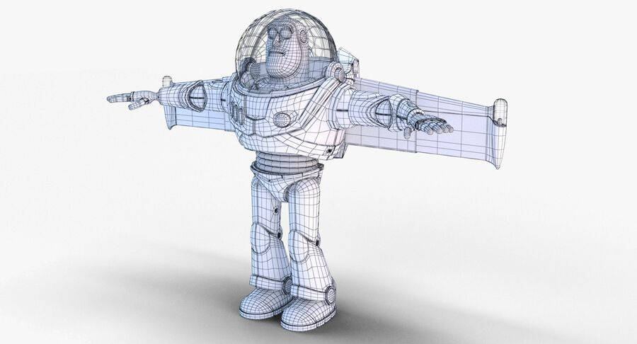 Buzz Lightyear 2019 royalty-free 3d model - Preview no. 32