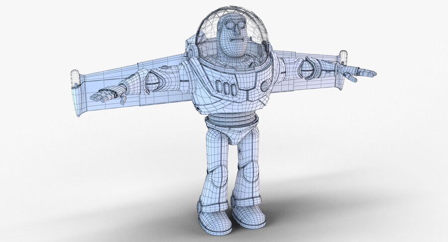 Buzz Lightyear 2019 royalty-free 3d model - Preview no. 29