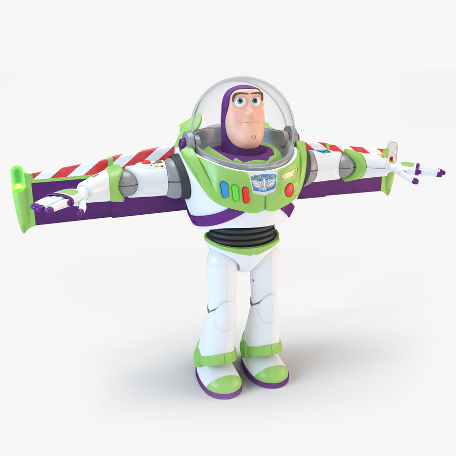 Buzz Lightyear 2019 royalty-free 3d model - Preview no. 1