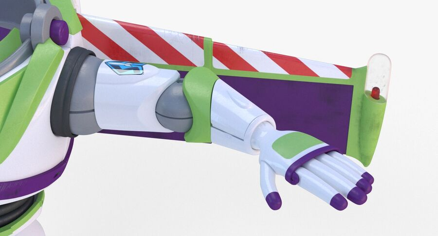 Buzz Lightyear 2019 royalty-free 3d model - Preview no. 12