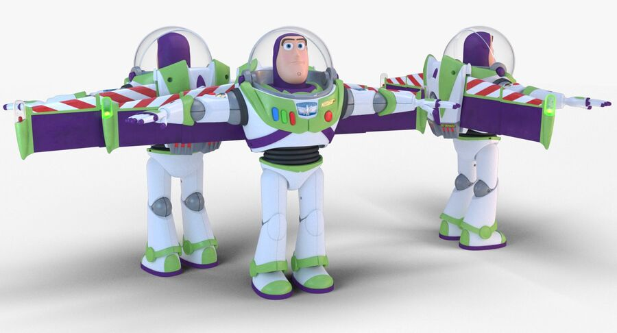 Buzz Lightyear 2019 royalty-free 3d model - Preview no. 5