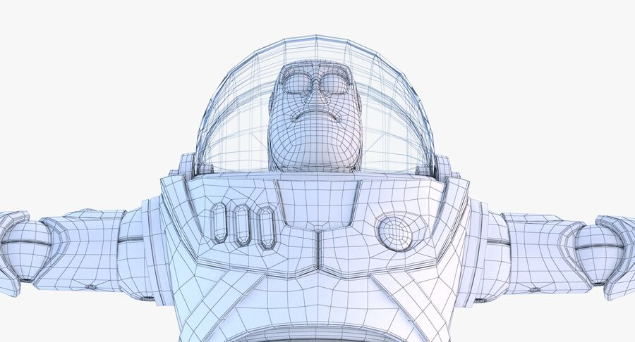 Buzz Lightyear 2019 royalty-free 3d model - Preview no. 45