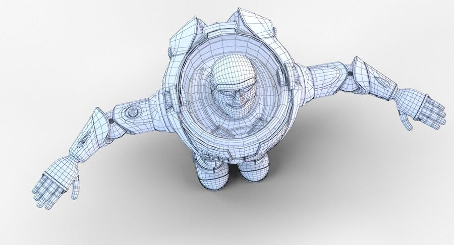 Buzz Lightyear 2019 royalty-free 3d model - Preview no. 31