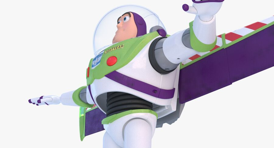Buzz Lightyear 2019 royalty-free 3d model - Preview no. 15