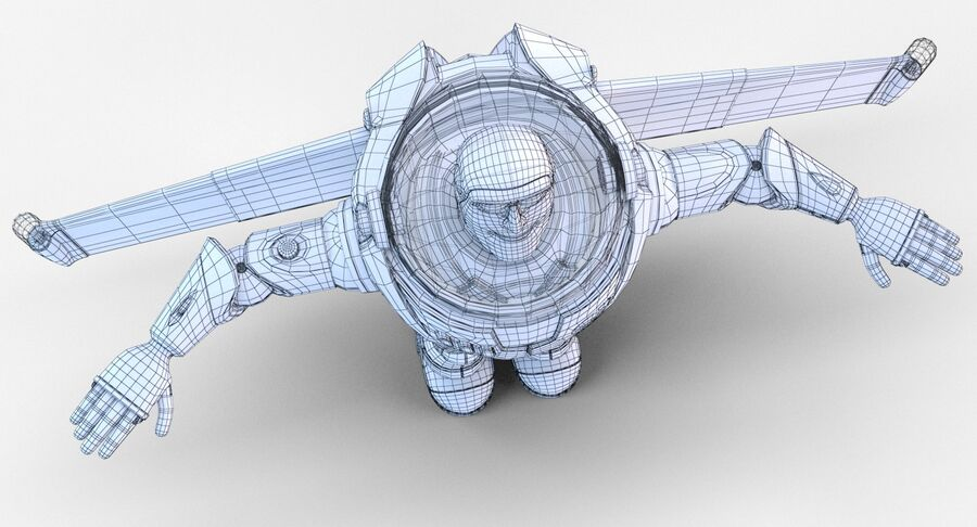 Buzz Lightyear 2019 royalty-free 3d model - Preview no. 30