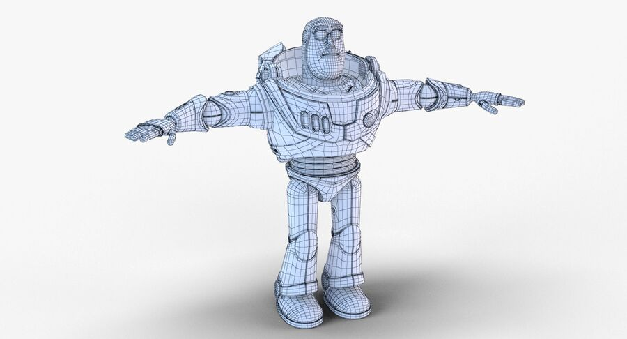 Buzz Lightyear 2019 royalty-free 3d model - Preview no. 28