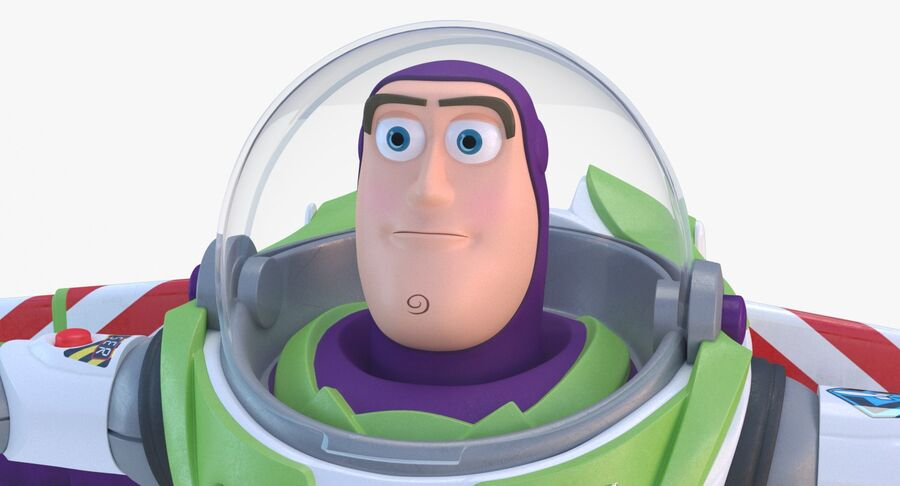Buzz Lightyear 2019 royalty-free 3d model - Preview no. 11