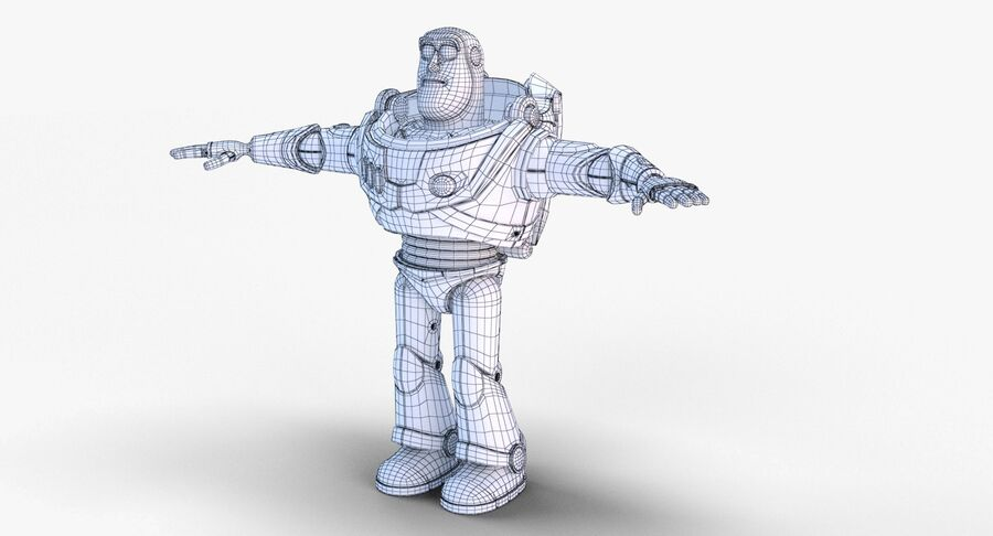 Buzz Lightyear 2019 royalty-free 3d model - Preview no. 33