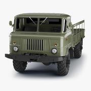 ГАЗ-66 Грузовик High Poly 3d model