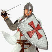 Knight Templar HQ 3d model