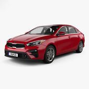Kia Forte 2018 3d model