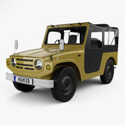 Suzuki Jimny 1970 modelo 3d